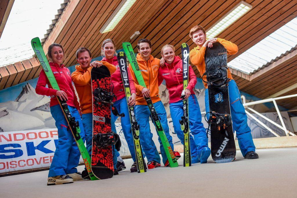 SkiDiscovery team