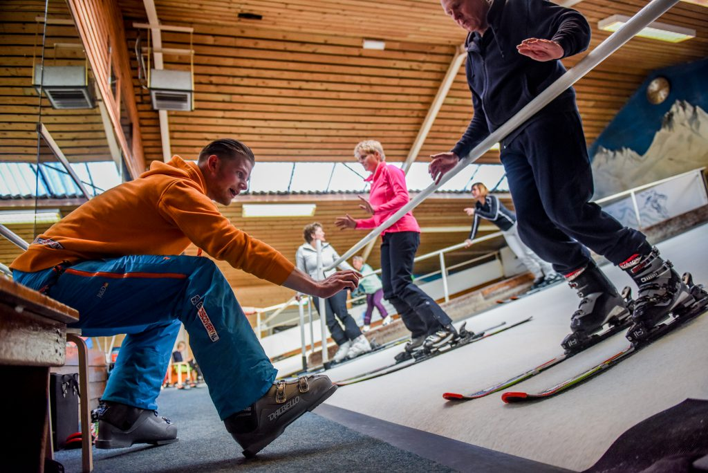 Indoor skiles in Den Haag