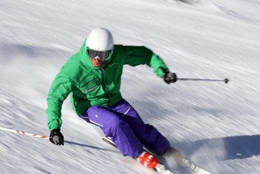 leren skiën den haag