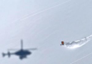 Heli ski trip wintersport