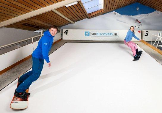 Snowboarden bij SkiDiscovery
